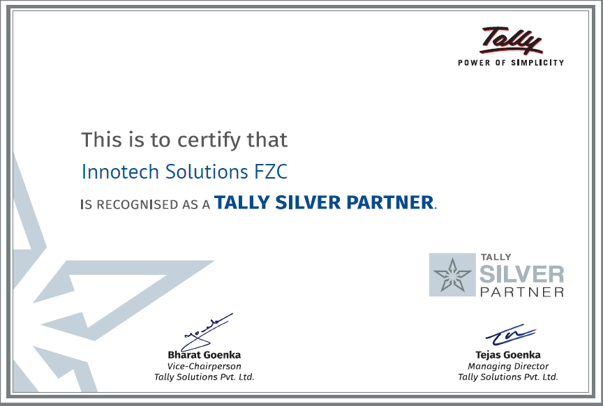 Tally prime official partner UAE, Tally prime official partner Sharjah, Tally prime official partner Dubai, Tally prime official partner Abu Dhabi